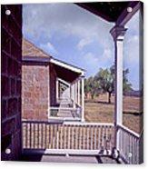 Fort Davis Perspective Acrylic Print