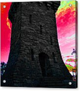 Fort Ethan Allen Abstract Acrylic Print