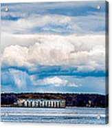 Fort Gorges Acrylic Print
