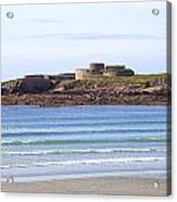Fort Hommet - Guernsey Acrylic Print
