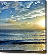 Fort Lauderdale Beach At Sunrise Acrylic Print
