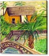 Fort Lauderdale Manistee Acrylic Print