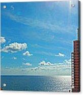 Fort Lauderdale Ocean View Acrylic Print