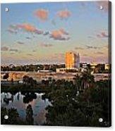 Fort Lauderdale Scene Acrylic Print