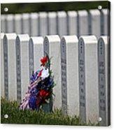 Fort Leavenworth National Cemetery Acrylic Print