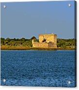 Fort Matanzas - Saint Augustine Florida Acrylic Print by Christine Till