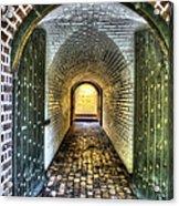 Fort Moultrie Door Acrylic Print