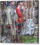 Fort Pitt Sentry's Acrylic Print