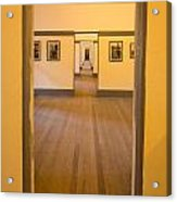 Fort Point - Officer's Floor Acrylic Print