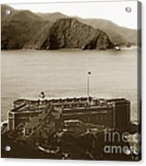 Fort Point And The Golden Gate San Francisco Circa 1890 Acrylic Print