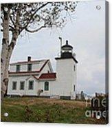 Fort Point Lighthouse 9239 Acrylic Print