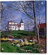 Fort Point Lighthouse Acrylic Print
