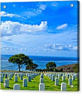 Fort Rosecrans National Cemetery 2 Acrylic Print