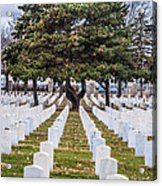 Fort Snelling National Cemetery Acrylic Print