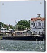 Fort Sumter Pilot Boat Acrylic Print