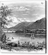 Fort Ticonderoga Ruins Acrylic Print