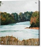 Fort Toulouse Coosa Tallapoosa River Acrylic Print
