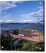 Fort Wadsworth Acrylic Print