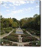 Fort Worth Arboretum Acrylic Print