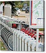 Fort Worth B Cycle 2 Acrylic Print