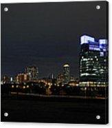 Fort Worth Chesapeake Plaza Acrylic Print