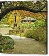 Fort Worth Japanese Gardens-040 Acrylic Print