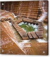 Fort Worth Water Gardens Acrylic Print