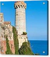 Forte Stella Lighthouse - Portoferraio - Elba Island Acrylic Print