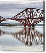 Forth Bridge Reflections Acrylic Print