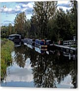 Forth Canal Reflection Acrylic Print