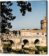 Fortress And Bridge Acrylic Print