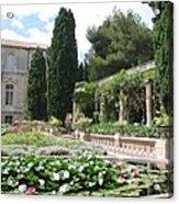 Fortress Garden  Villeneuve Les Avignon Acrylic Print