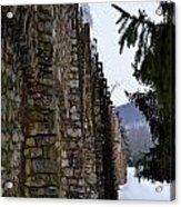 Fortress Walls Acrylic Print