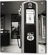 Forty Cents A Gallon Acrylic Print