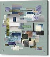 Forty Nine Shades Of Gray IIi Acrylic Print