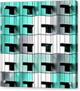 Forty Windows Acrylic Print