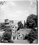 Forum Romanum Rome Italy Acrylic Print