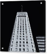 Foshay Tower  Mono Acrylic Print