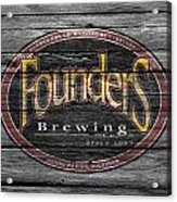 Founders Brewing Acrylic Print