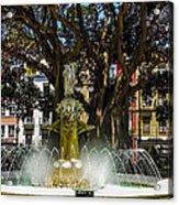 Fountain Alicante Acrylic Print