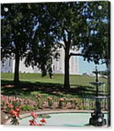 Fountain At Capitol Square  Acrylic Print