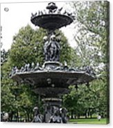 Fountain Boston Common Acrylic Print