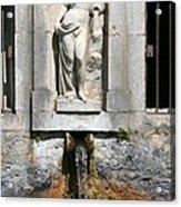 Fountain In A Palace Garden Acrylic Print