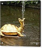 Fountain In Peterhof Acrylic Print