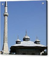 Fountain Of Ahmet IIi - Istanbul Acrylic Print