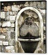 Fountain Of Ascona Acrylic Print