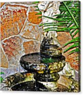 Fountain Of Friendship Acrylic Print