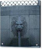 Fountain Seat Acrylic Print