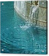 Fountain St Francisville Inn Louisiana Acrylic Print