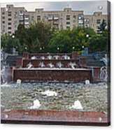 Fountains Galore Acrylic Print